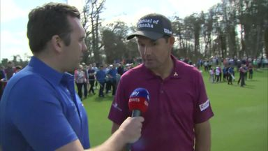 Harrington's Ryder Cup hopes