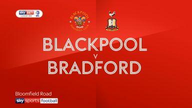 Blackpool 5-0 Bradford