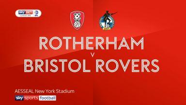 Rotherham 2-0 Bristol Rovers
