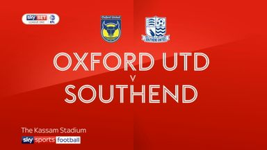 Oxford Utd 2-0 Southend