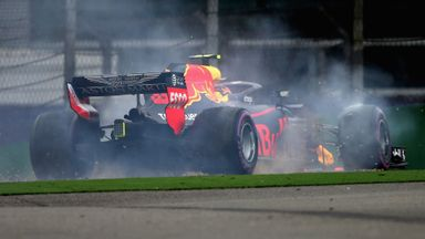 Spins dominate Chinese GP practice