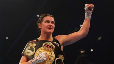 'Taylor is the outstanding female fighter'