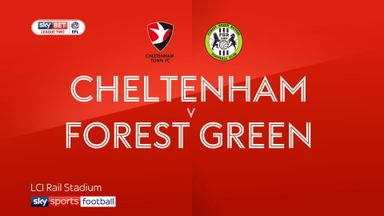 Cheltenham 0-1 Forest Green