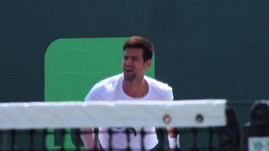 Djokovic splits with Agassi