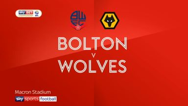 Bolton 0-4 Wolves
