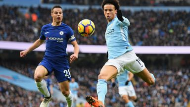 Conte admits Man City could dominate