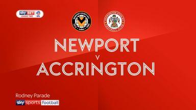 Newport 2-1 Accrington