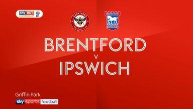Brentford 1-0 Ipswich