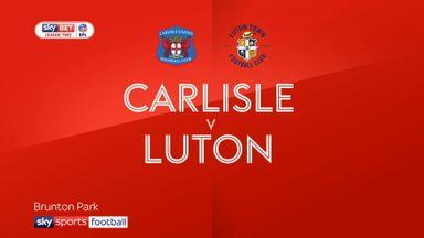 Carlisle 1-1 Luton