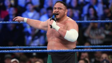 Samoa Joe puts SmackDown roster on notice