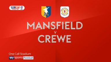 Mansfield 3-4 Crewe
