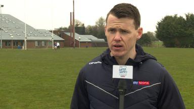 TJ Reid visits GAA Super Game Centre