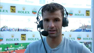 Dimitrov satisfied with win