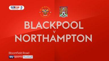 Blackpool 3-0 Northampton