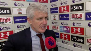 Hughes hails 'magnificent' Saints