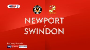 Newport 2-1 Swindon