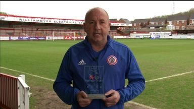 Accrington win POTW award