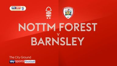 Nottingham Forest 3-0 Barnsley