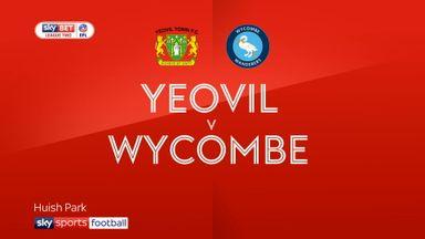 Yeovil 0-1 Wycombe