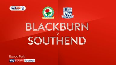 Blackburn 1-0 Southend