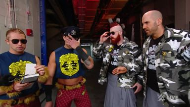 Breezango anger Cesaro and Sheamus
