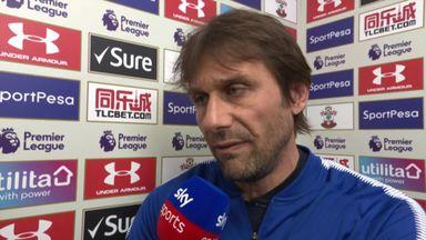 Conte credits Chelsea's desire
