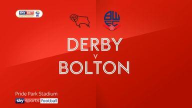 Derby 3-0 Bolton