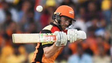IPL: Sunrisers v Chennai highlights