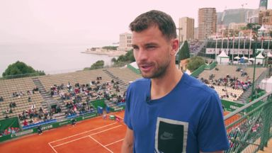 Dimitrov: Good to be home