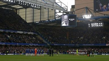 Chelsea pay tribute to Wilkins