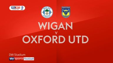 Wigan 1-0 Oxford Utd