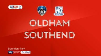 Oldham 0-3 Southend