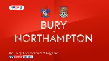 Bury 2-3 Northampton