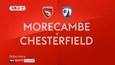 Morecambe 2-2 Chesterfield