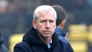 'Pardew exit surprising'