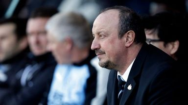 Benitez talks Newcastle future