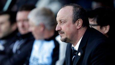 Benitez talks Newcastle future