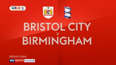 Bristol City 3-1 Birmingham