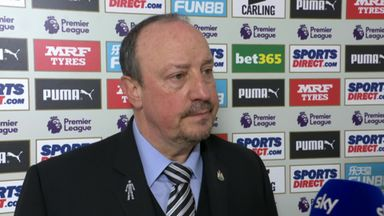 Benitez hails 'massive effort'