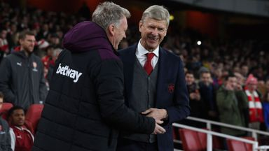 Moyes appreciates Wenger years