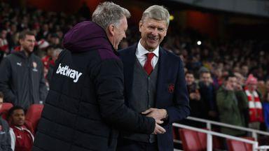 Moyes appreciates Wenger years