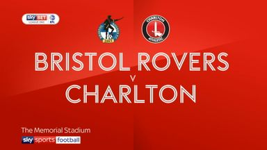 Bristol Rovers 1-1 Charlton