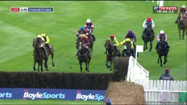 Crazy finish at Punchestown