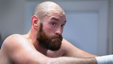 WATCH: Fury raring to return