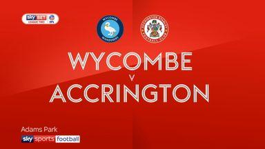 Wycombe 0-4 Accrington