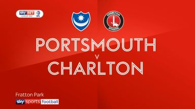 Portsmouth 0-1 Charlton