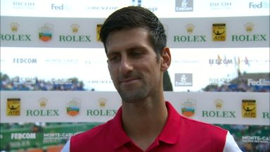 Djokovic happy with performance