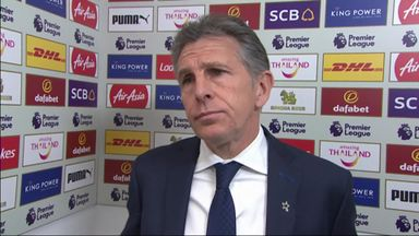 Puel disappointed by Leicester tempo