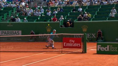 Magnificent Struff drop volley