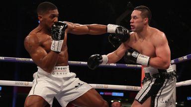 Highlights: Joshua beats Parker